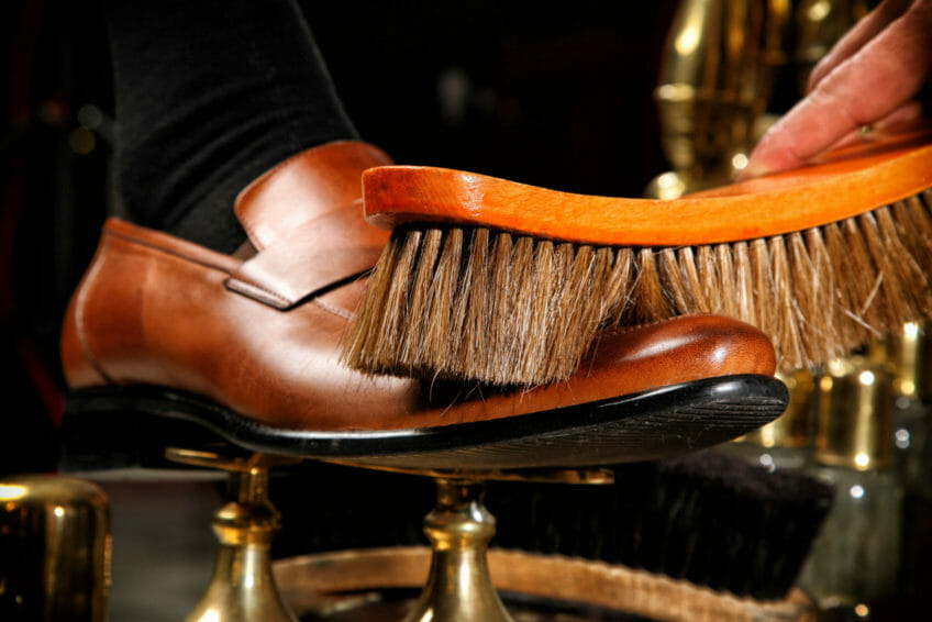 Shoe polish and cleaning